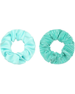 Scrunchie set ocean blue