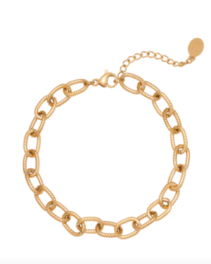 Gouden chain armband